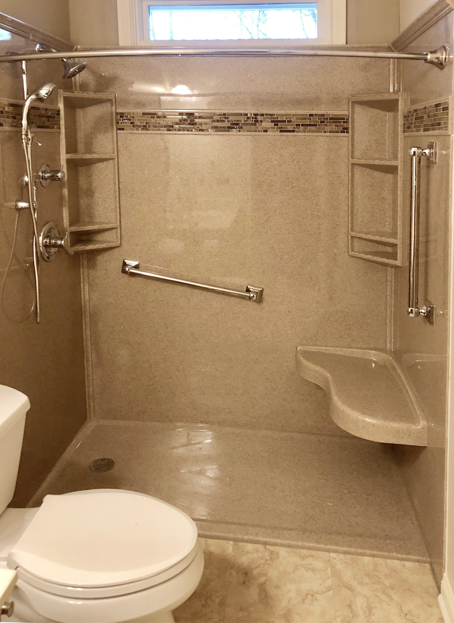 tub to shower conversion in Loveland, CO